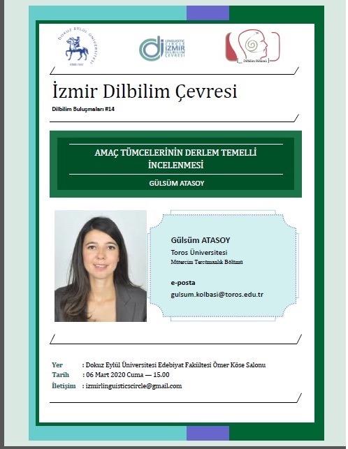 İzmir Dilbilim Çevresi ''Dil Bilim Buluşmaları''