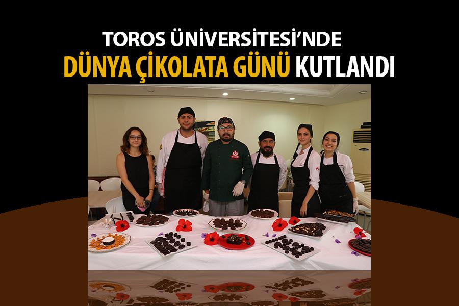 Toros Üniversitesi'nde Dünya Çikolata Günü Kutlandı